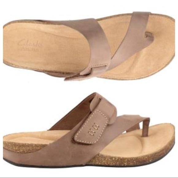 b0236e38c60c Clarks Shoes - Clarks Perri Coast Thong Sandals 9.5W